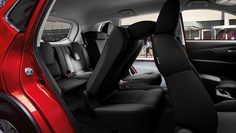 interior with ezflex seats