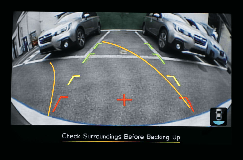 Reverse parking camera