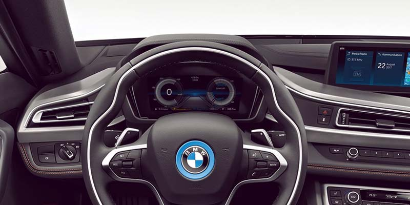 Take the BMW i8 Roadster for a Test Drive