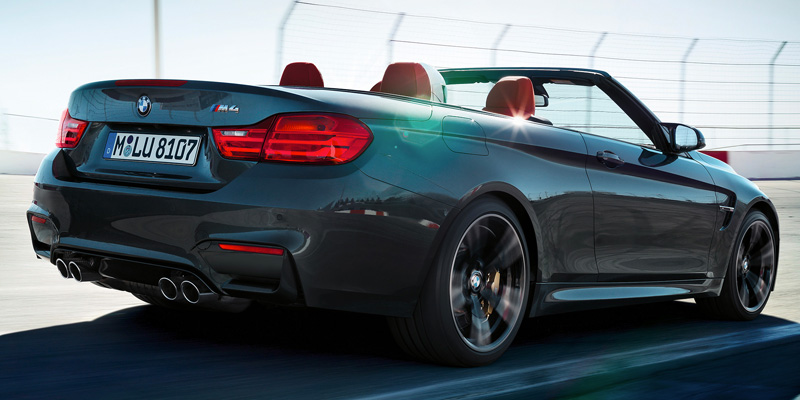 Take the M4 Convertible for a Test Drive