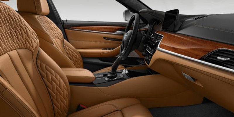 Take the Series 5 Sedan for a Test Drive