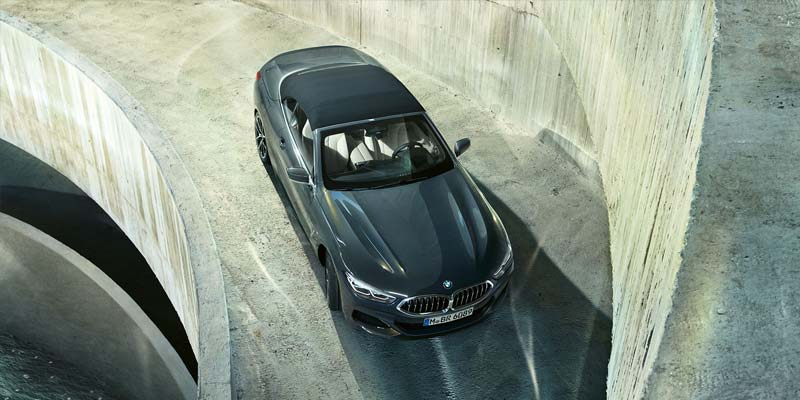 Take the Series 8 Convertible for a Test Drive